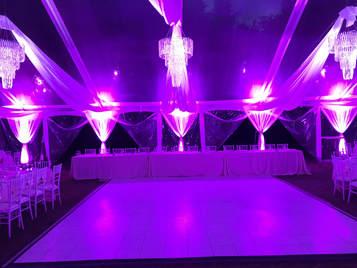 Lighting Audio Video Staging D Lite Tent Event
